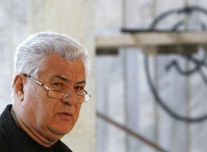 Vladímir Voronin, el pasado viernes, durante una conferencia de prensa.