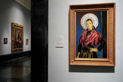 'La boloñesa', cuadro de María Blanchard, recientemente adquirido por el Museo del Prado.