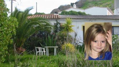 Casa donde vivió el sospechoso de matar a Madeleine McCann (en la imagen) en el Algarve, en una foto facilitada este jueves por la policía alemana.