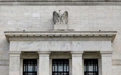 La sede de la Reserva Federal en Washington, en una imagen de archivo.