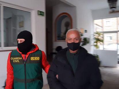 El presunto capo italiano Giuseppe Refrigeri, detenido por la Guardia Civil el 26 de febrero en Estepona (Málaga).