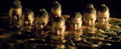 Imagen del anuncio <i>El Color Reserva</i>, que Freixenet repetirá en las campañas de 2008 y 2009.