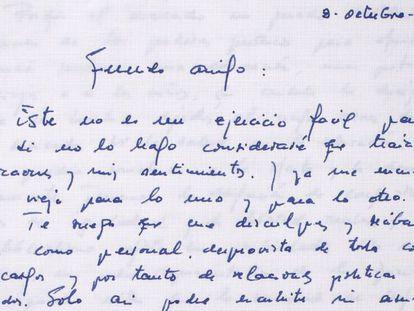 Las cartas que escribió y recibió Felipe González cuando fue presidente
