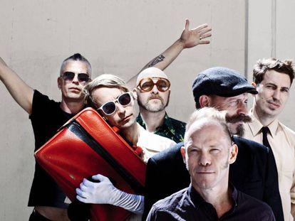 La banda sueca Bob Hund.