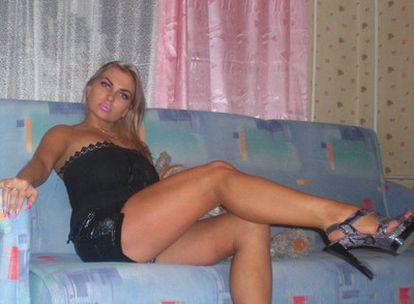 La supuesta Natalya, en una de las muchas fotos que envió al supuesto Paco durante su frenética correspondencia.