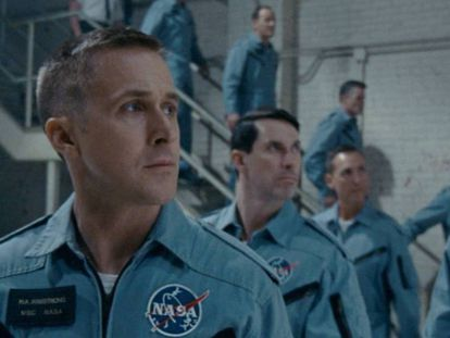 Ryan Gosling en 'First Man' / En vídeo, tráiler de la película 'First Man'.