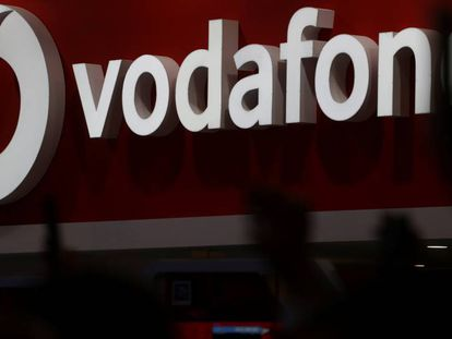 Stand de Vodafone en el último Mobile World Congress de Barcelona.