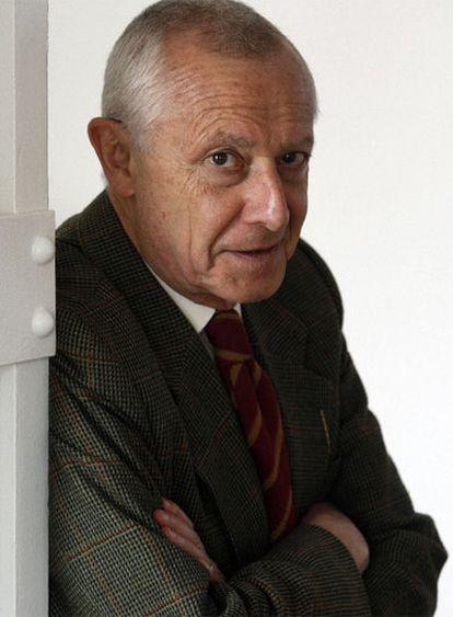 Ignacio Rupérez, durante una entrevista con EL PAÍS en su casa de Madrid.