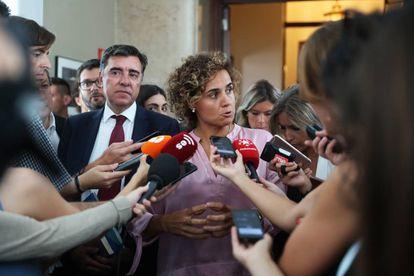 La portavoz del PP, Dolors Monserrat.