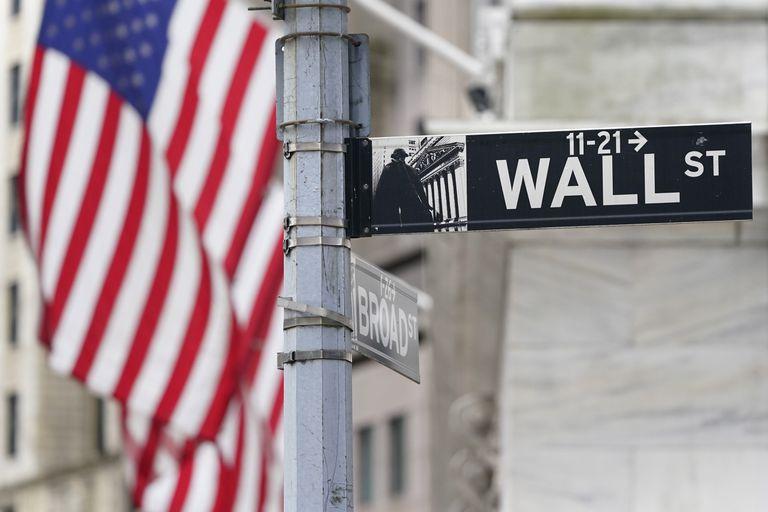 Una señal en Wall Street, Nueva York, el 23 de noviembre.