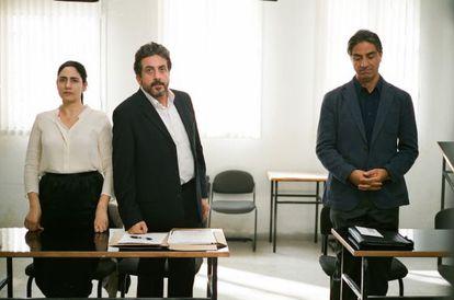 Un fotograma de 'Gett, el divorcio de Viviane Amsalem'.