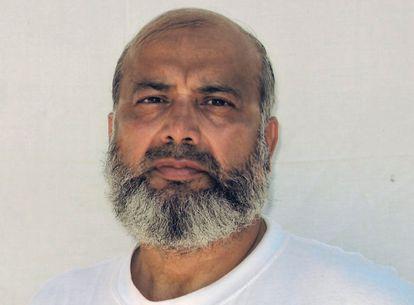 Saifullah Paracha, de 73 años, es el preso de mayor edad en la base de Guantánamo, Cuba.
