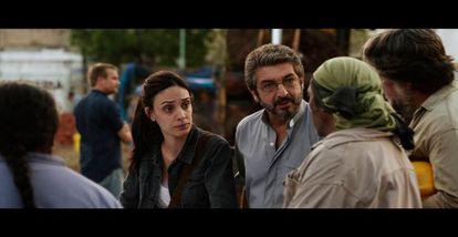 Martina Gusman y Ricardo Darín, en 'Elefante blanco'.
