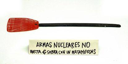 Uno de los artefactos o poemas visuales de Nicanor Parra.