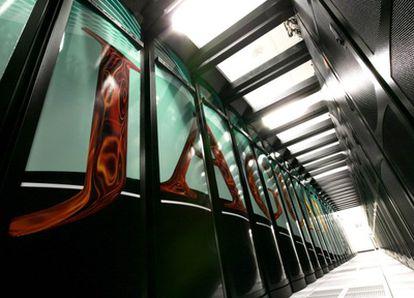 Jaguar, un superordenador instalado en Estados Unidos, es el que tiene más capacidad de procesamiento.