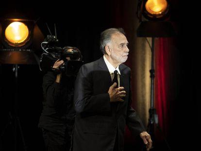 Francis Ford Coppola momentos antes de recoger el galardón del Festival Lumiére el 18 de octubre de 2019.
