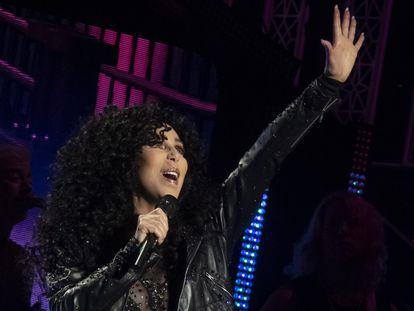 Cher, en un concierto en Glasgow, en octubre de 2019.