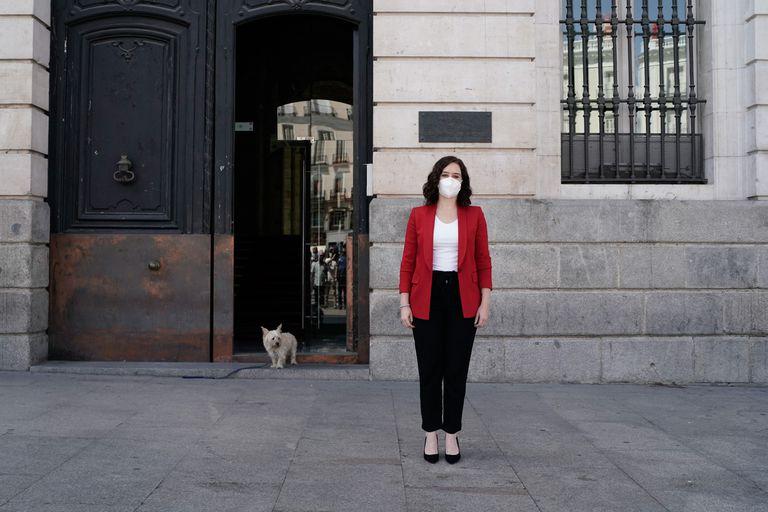La presidenta de la Comunidad de Madrid, Isabel Díaz Ayuso, en una imagen de archivo.