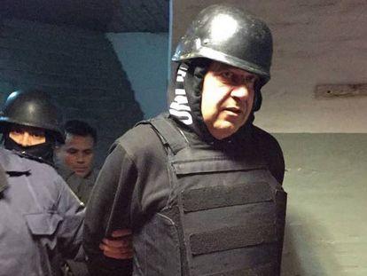 El empresario Claudio Minnicelli, detenido en la ciudad de Mar del Plata en una causa por presunta corrupción.