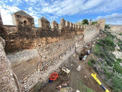 Restauración de la alcazaba de Almería, a cargo del estudio Yamur Arquitectura.