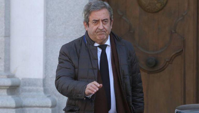 El fiscal Javier Zaragoza, en un receso de juicio a los líderes independentistas del procés.