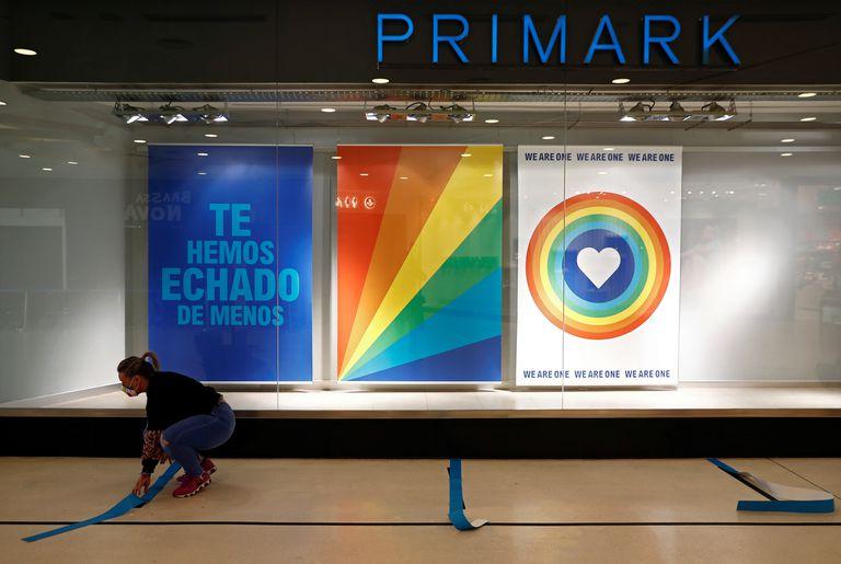 Una tienda de Primark en Madrid.