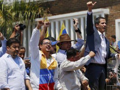 """El presidente de la Asamblea Nacional responde al arresto de su estrecho colaborador, Roberto Marrero  """"¿Vienen por mí? Dale, aquí estamos"""""""