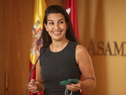 Rocío Monasterio seguirá cuatro años más como presidenta de Vox en Madrid al haberla proclamdo el Comité Electoral ganadora sin votación.