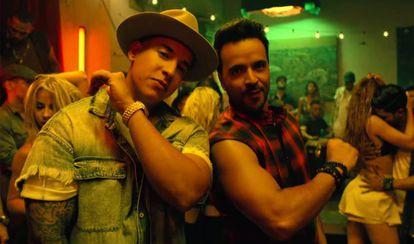 Daddy Yankee y Luis Fonsi en el vídeo de 'Despacito'.