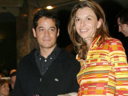Jorge Sanz y Paloma Gómez, en 2004. / Vídeo: Promoción de la serie 'Valentina'.
