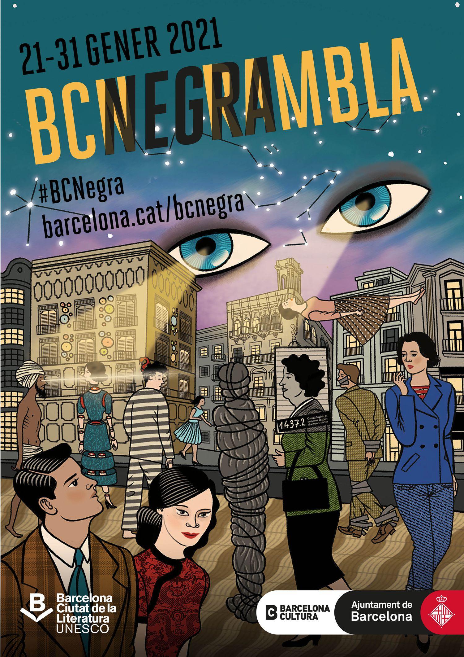 BCNegra, festival de novela negra de Barcelona