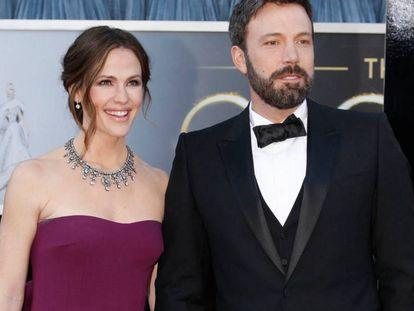 Ben Affleck y Jennifer Garner, cuando eran matrimonio.