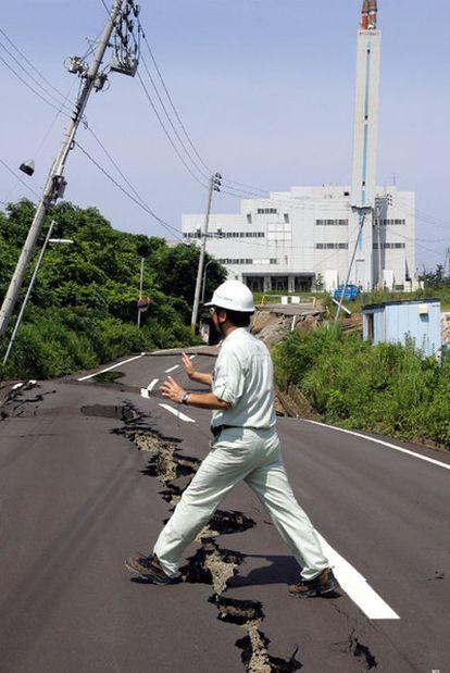 Central de Kashiwazaki-Kariwa, el 17 de julio de 2007.