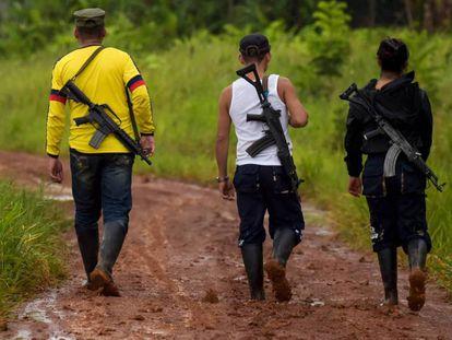 Disidentes de las FARC en el departamento de Guaviare. / RAÚL ARBOLEDA (AFP)
