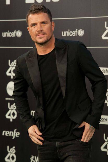 El cantante y ocasional actor Dani Martín en 2018.