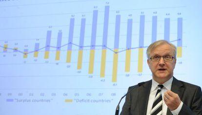El comisario de Asuntos Económicos y Monetarios de la Comisión, Olli Rehn.