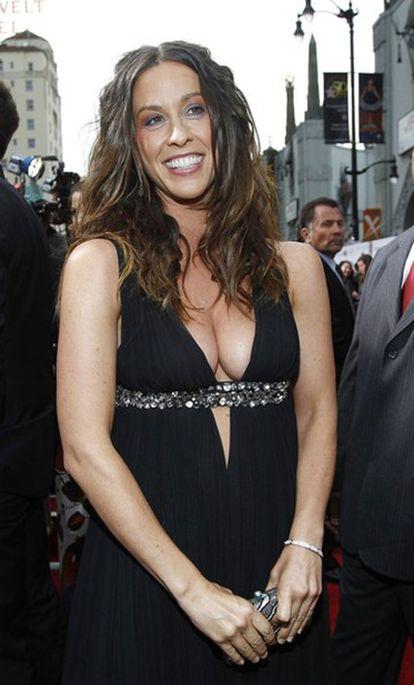 La cantante Alanis Morissette, durante un estreno de cine el pasado mes de mayo.