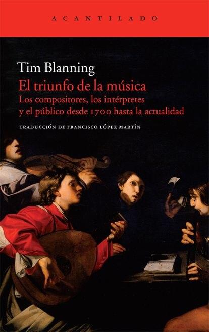 Portada de 'El triunfo de la música'