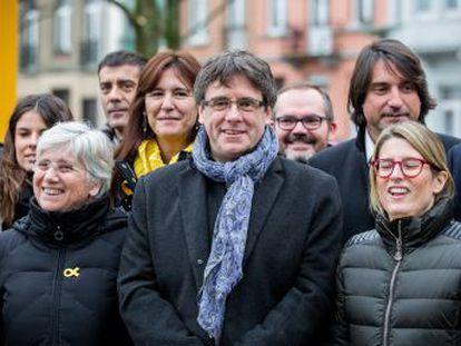 """El expresidente catalán asegura que el único plan que tiene es """"la restitución del Govern"""""""