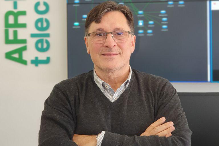 Miguel Ángel Acero, cofundador de AFR-IX Telecom y Barcelona CLS