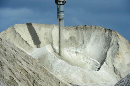 Mina de litio en Australia.