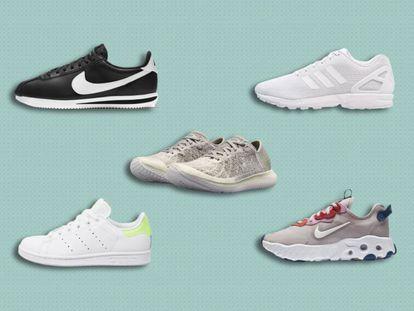 Modelos de Nike, Adidas o Under Armour que se pueden encontrar 'online' con descuentos y que se adaptan a distintos presupuestos y estilos