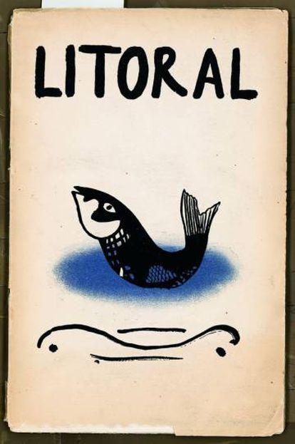 El primer número de la revista 'Litoral'.