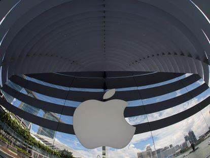 Logo de Apple en Singapur