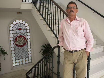 Salvador Mera, hasta anoche secretario general de UGT en Cádiz.