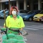 Sara Gema López, trabajadora de la limpieza de la empresa municipal de Alcorcón