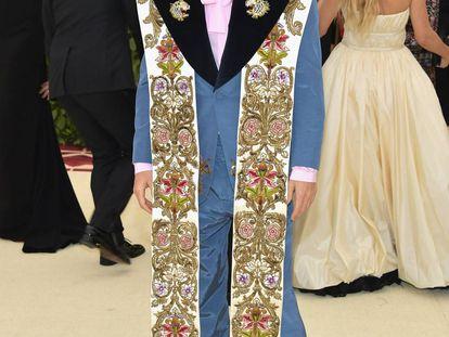 Jared Leto, de Gucci en la gala del Met.