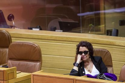 Carmen Iglesias en el Parlamento