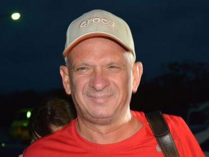 Hugo Carvajal tras su liberación en Aruba el domingo