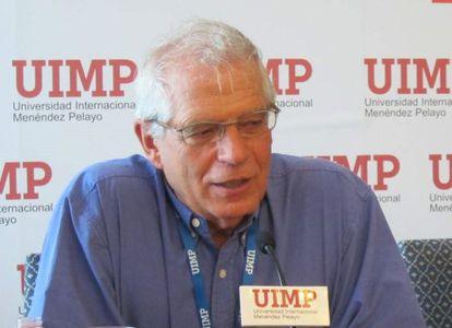 El exministro Josep Borrell, en una imagen de archivo.